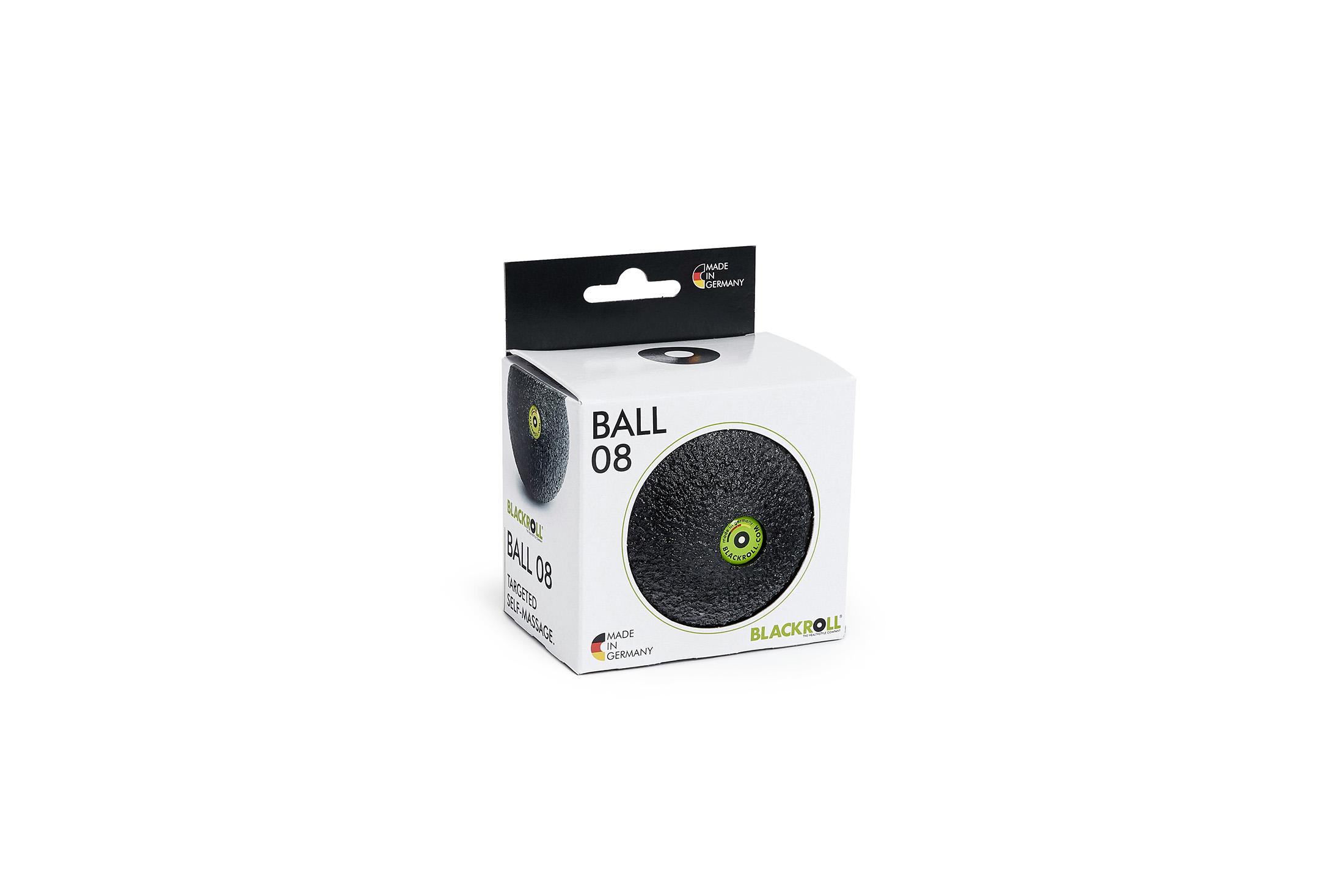 BLACKROLL® BALL 08 black - boxed incl. doming