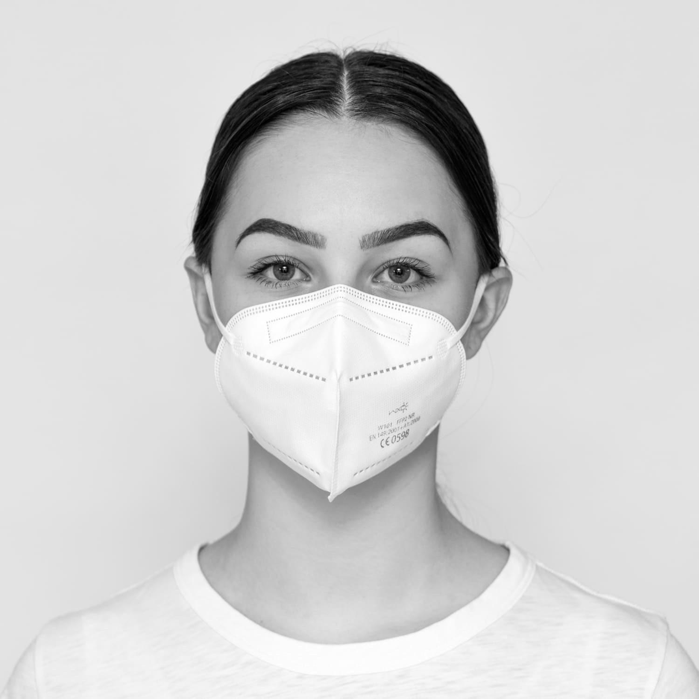 Atemschutzmaske, FFP2, 10 Stück